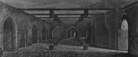 Sous-sol du Parlement (Chambre des Lors en 1799)